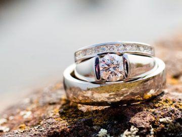 De perfecte sieraden zijn van diamant