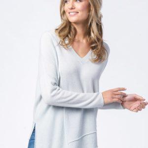 Asymmetrische cashmere sweater bestellen via fashionciao