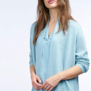 Cashmere cardigan met glinsterend effect bestellen via fashionciao
