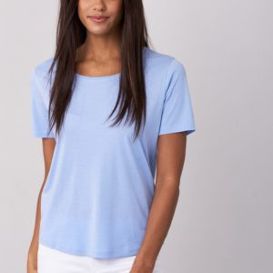 Basic dames T-shirt bestellen via fashionciao