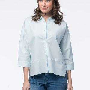 Katoenen batwing-blouse bestellen via fashionciao