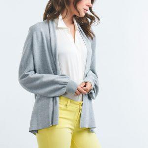Oversized gebreid vest bestellen via fashionciao