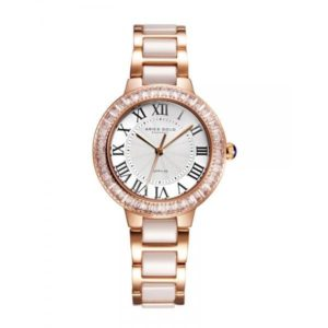 "Aries Gold – Enchant ""Capella"" – L5015Z RG-W (Rosé goud met wit) dameshorloge bestellen via fashionciao"