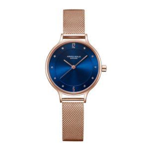 "Aries Gold – Enchant ""Stylish & female"" – L5033Z RG-BU (Rosé goud met blauw) bestellen via fashionciao"